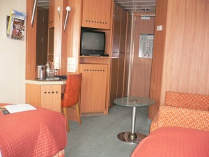 in side cabin